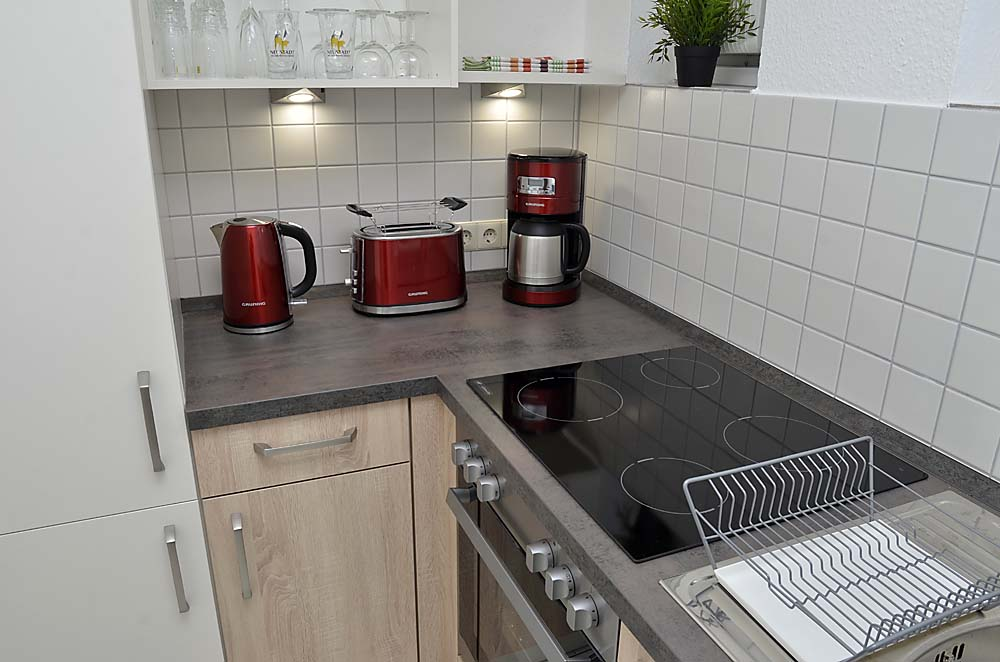 Apartment Hohenzollern Kitchen